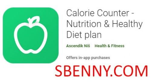 Kalorienzähler - Ernährung & amp; Plan für gesunde Ernährung + MOD