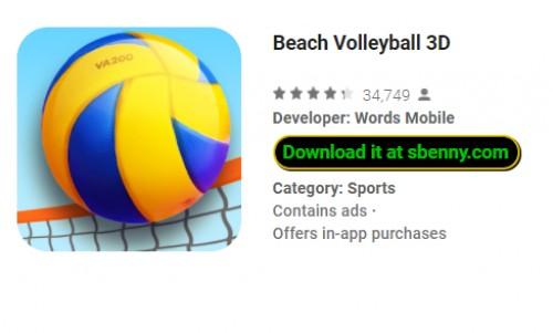 Voleibol de praia 3D + MOD