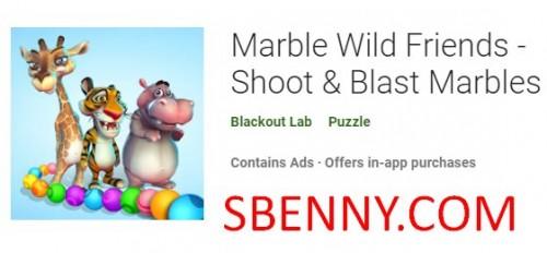 Marble Wild Friends - Shoot & Blast Marbles + MOD