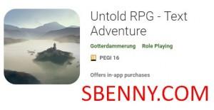 Untold RPG - Test Adventure + MOD