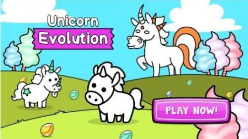 Unicorn Evolution - Fairy Tale Horse Game + MOD