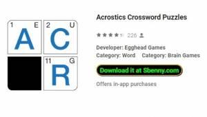 Akrostichon-Kreuzworträtsel