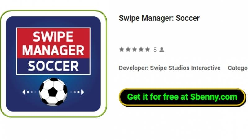 Swipe Manager: Football