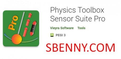 جعبه ابزار فیزیک Sensor Suite Pro