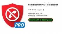Anrufe Blacklist PRO - Anrufsperre