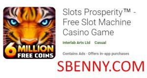 Slots Prosperity ™ - бесплатная игра в казино с игровыми автоматами + MOD