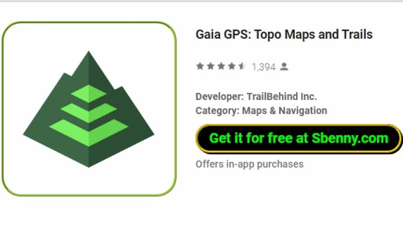 Gaia GPS: Topo Maps and Trails