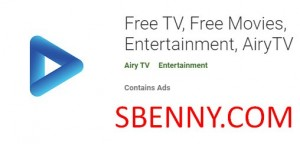 Бесплатное телевидение, бесплатные фильмы, развлечения, AiryTV + MOD