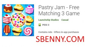 Pastry Jam - Free Matching 3 Game + MOD