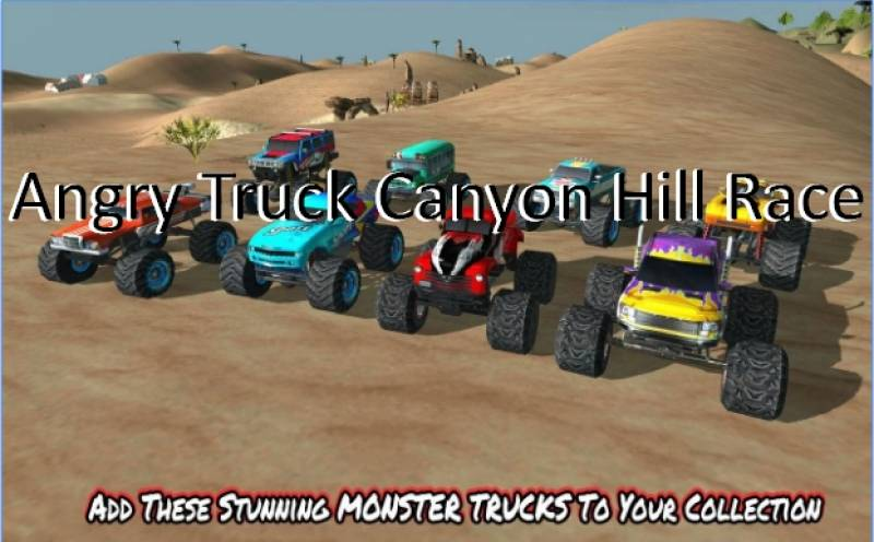 Angry Truck Canyon Colline Race + MOD
