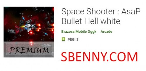 Space Shooter : AsaP Bullet Hell white + MOD