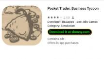 Pocket Trader. Geschäft Tycoon + MOD