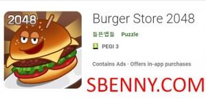 Burger Store 2048