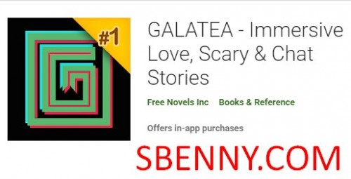 GALATEA - Amor inmersivo, aterrador y amp; Historias de chat + MOD
