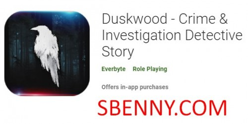 Duskwood - Kriminalità & amp; Investigazzjoni Detective Story + MOD