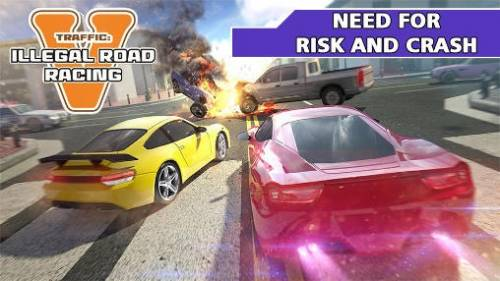 Traffic: Illegal Road Racing 5 + MOD