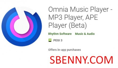 Omnia Music Player - MP3 Player, APE Player (Beta) + MOD