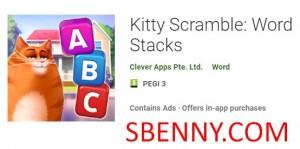 Kitty Scramble: Word Stacks + MOD