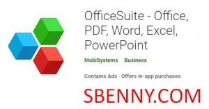 OfficeSuite - Office، PDF، Word، Excel، PowerPoint + MOD