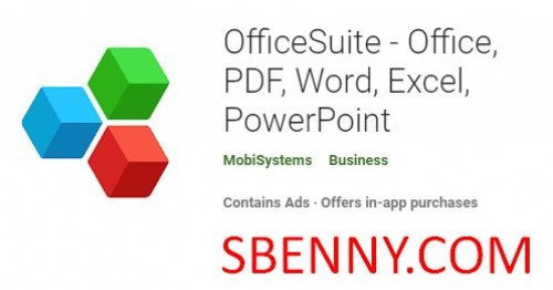 OfficeSuite - Office, PDF, Word, Excel, PowerPoint + MOD