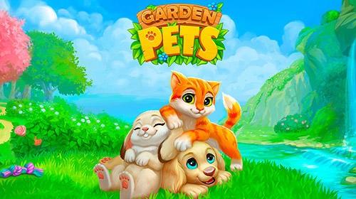 Mascotas de jardín: Match-3 Perros & amp; Gatos Home Decorate + MOD