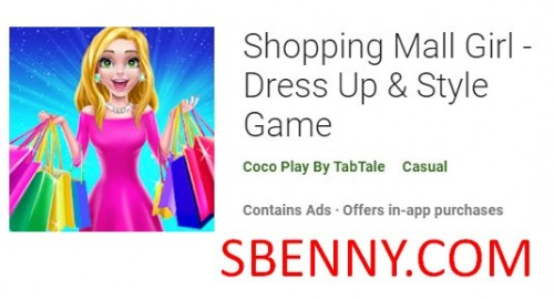 Торговый центр Girl - Dress Up & amp; Стиль игры + MOD