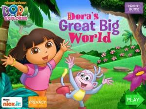 도라 & # 039;의 위대한 큰 세계! HD