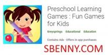 Jogos de Aprendizagem Pré-escolar: Jogos Divertidos para Crianças + MOD