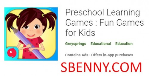 Preschool Learning Games : Fun Games for Kids + MOD