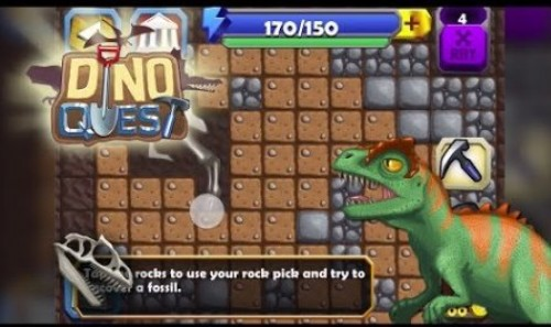 Dino Quest - Dinosaur Discovery and Dig Game + MOD