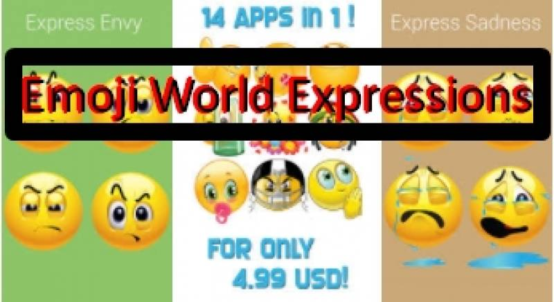 Emoji World ™ Ausdrücke