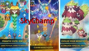 Sky Champ: Monster Attack + MOD