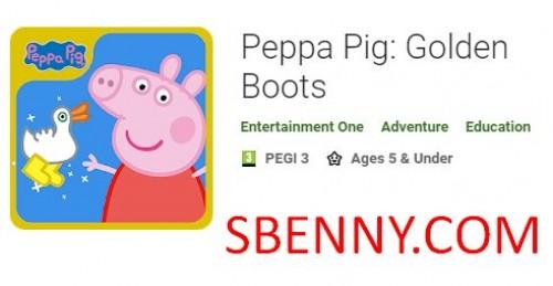 Peppa Pig: Botas Doradas + MOD