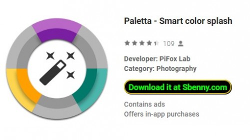 Paletta - Salpicos de cores inteligentes + MOD