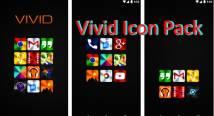 Vivid Icon Pack + MOD