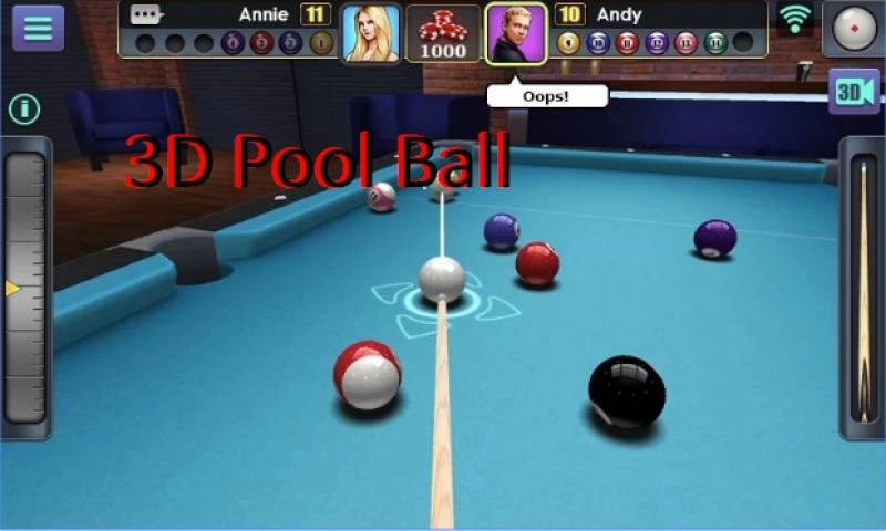 3D Pool Ball + MOD