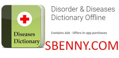 Disorder & Diseases Dictionary Offline + MOD
