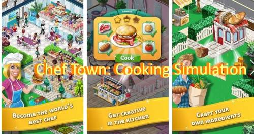 Chef Town: Cooking Simulation + MOD