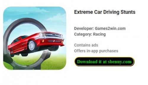 Extreme Car Driving Stunts + MOD