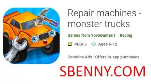 Reparaturmaschinen - Monster Trucks + MOD