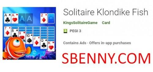 بازی Solitaire Klondike Fish + MOD