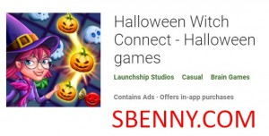 Halloween Witch Connect - Logħob ta 'Halloween + MOD