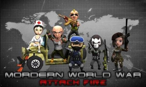 Mordern World War: Attack Fire + MOD