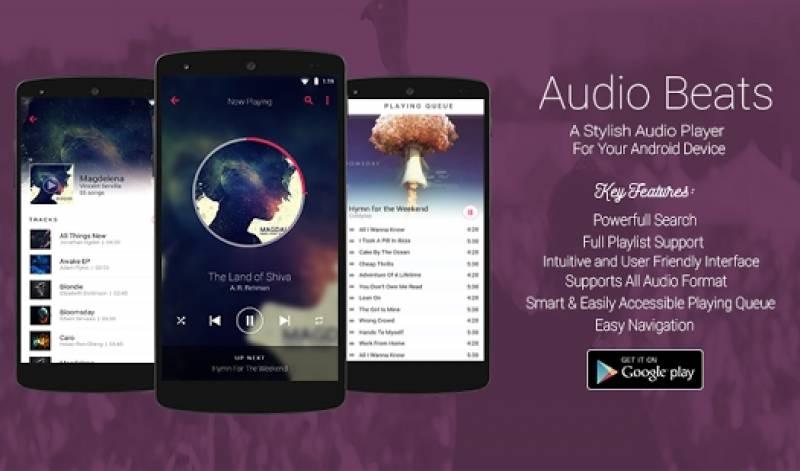 Audio Beats - лучший музыкальный проигрыватель, медиа и amp; Игрок Mp3 + MOD