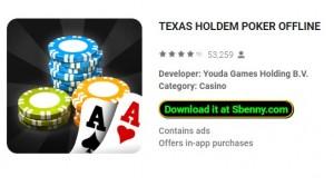 Texas Holdem Poker fuera de línea + MOD