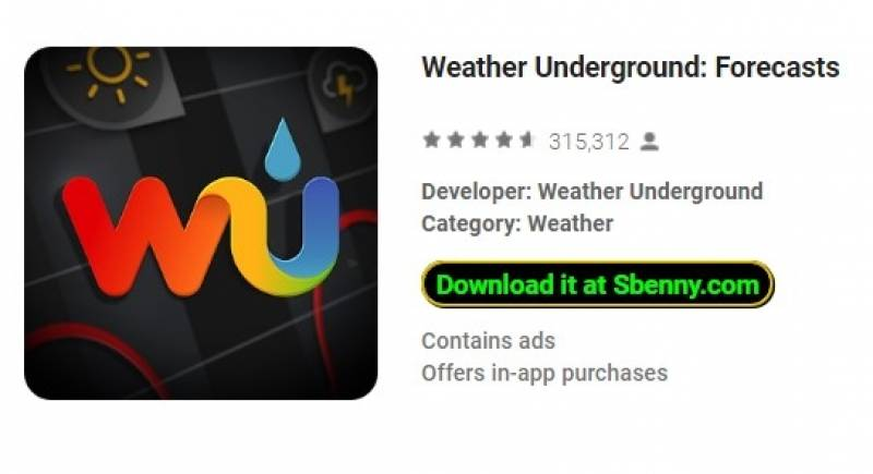 Weather Underground: Forecasts + MOD