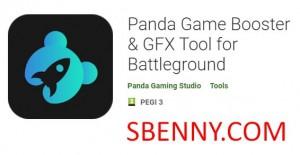 Panda Game Booster & amp; Strumento GFX per Battleground + MOD